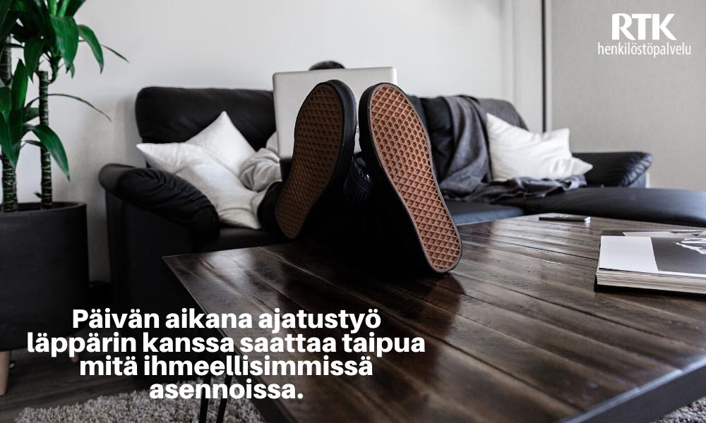 ergonomia_etätyö_kuvituskuva