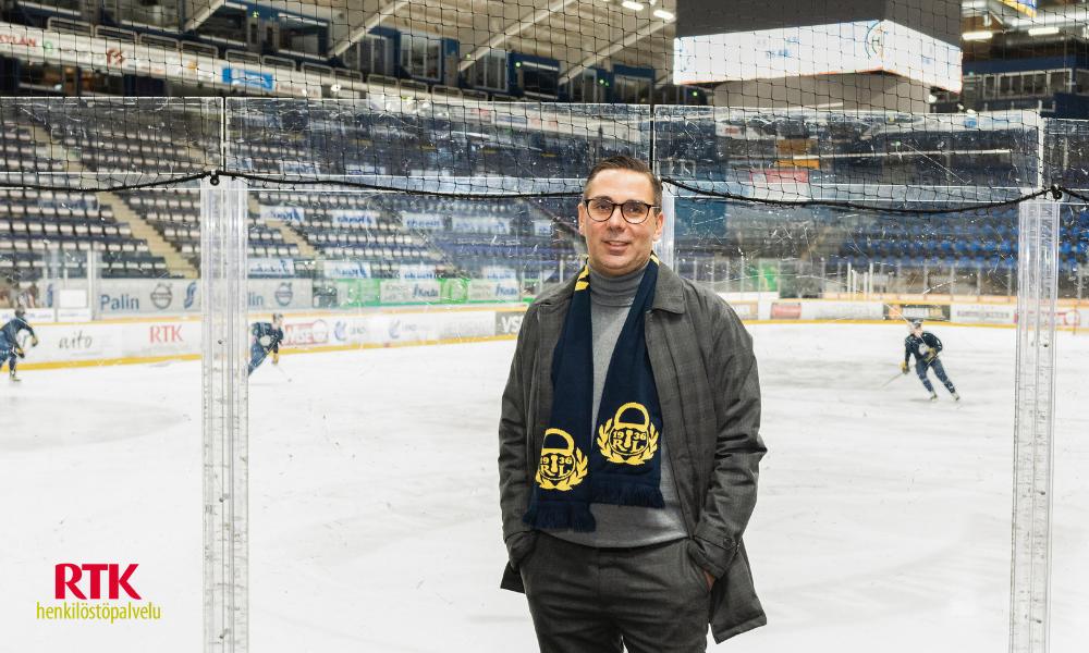 RTK-Henkilöstöpalvelu jääurheilun ja liikkumisen ilon yhtenä mahdollistajana